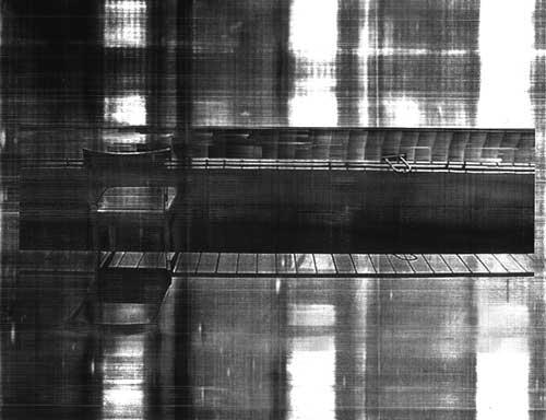 chair IV photo on transparence (laser printer) 22 cm x 28 cm Jan 2001
