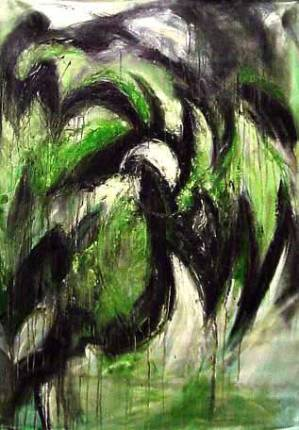 Green Oil on canvas 2000