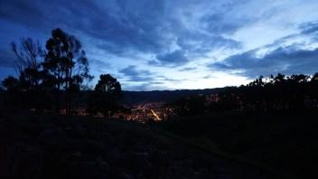 庫斯科夜景。