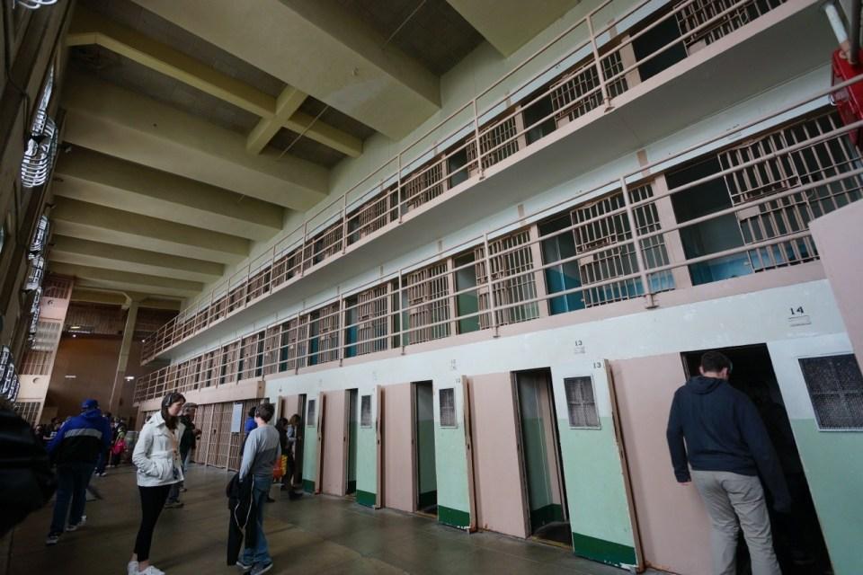 獨立囚室。