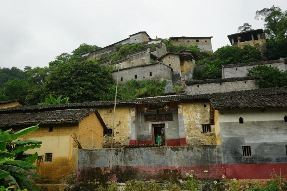 其實主要到景點彭家祠,中途意外發現廢村。