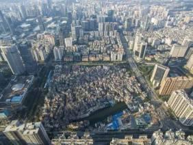 俯視冼村(照片自廣州房產網)