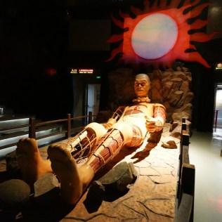 人體模型演示劇場。
