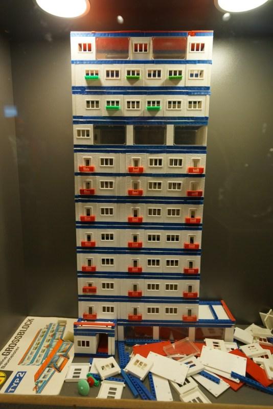 以東德典型住宅為本的玩具大廈。