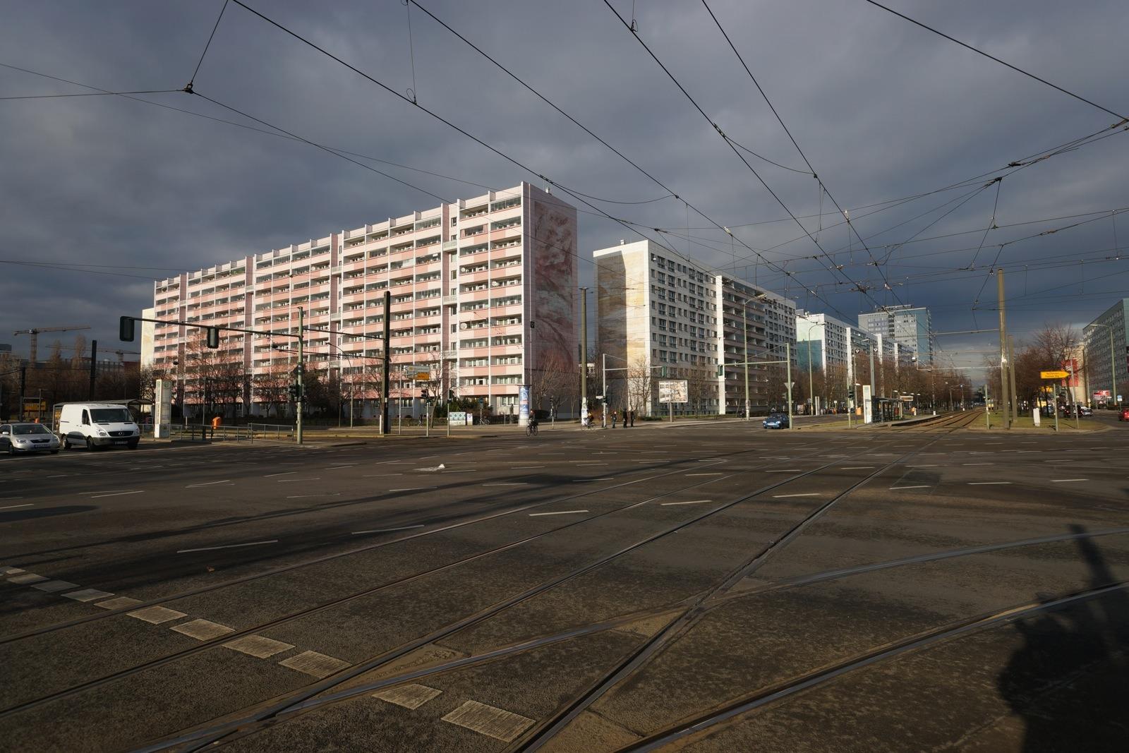 德國遊(七)-- 東柏林民房建築