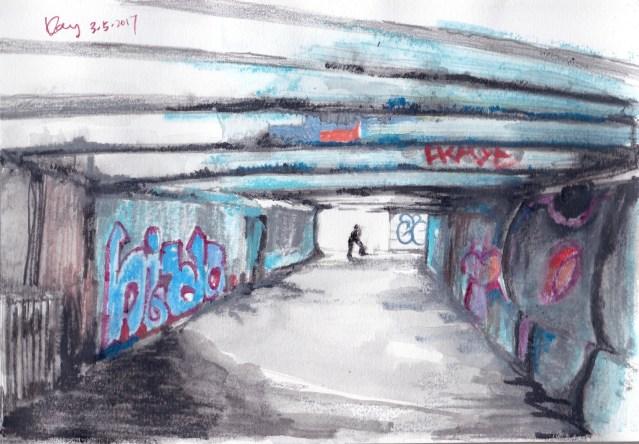 基輔行人隧道