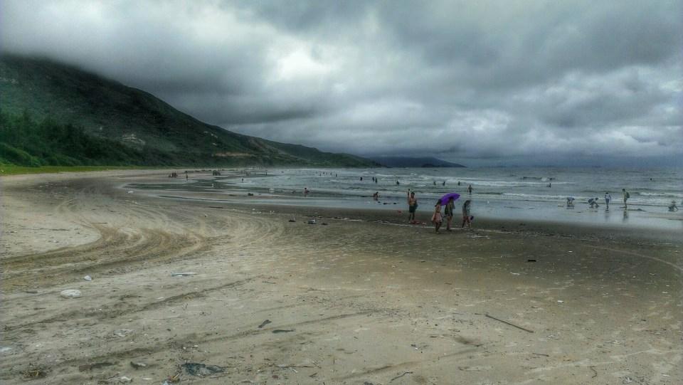 巽寮半島東岸海灘。