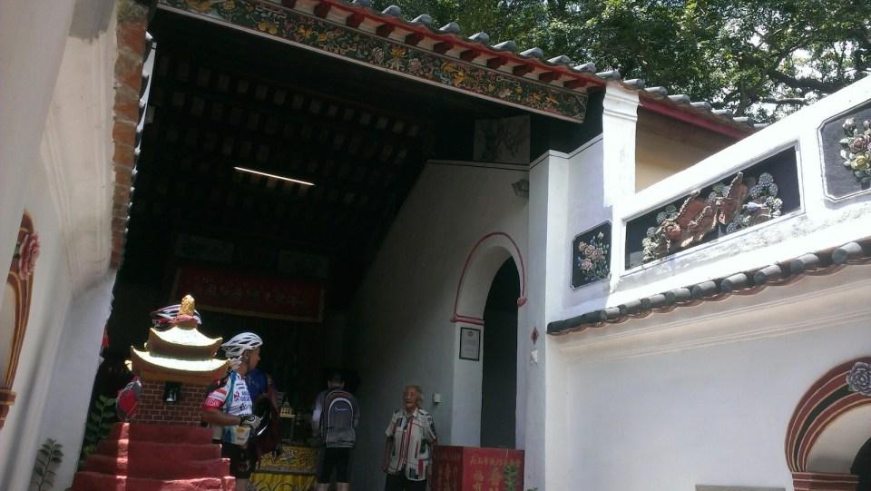 長山古寺。