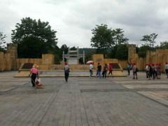 大會 checkpoint「葉劍英紀念公園」。