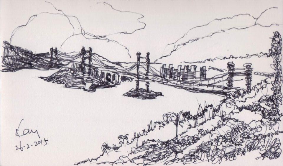《青馬大橋》