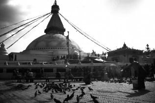 Boudhanath Stupa.