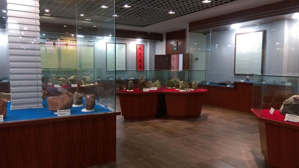 展廳仍停留八、九十年代國內博物館格局。