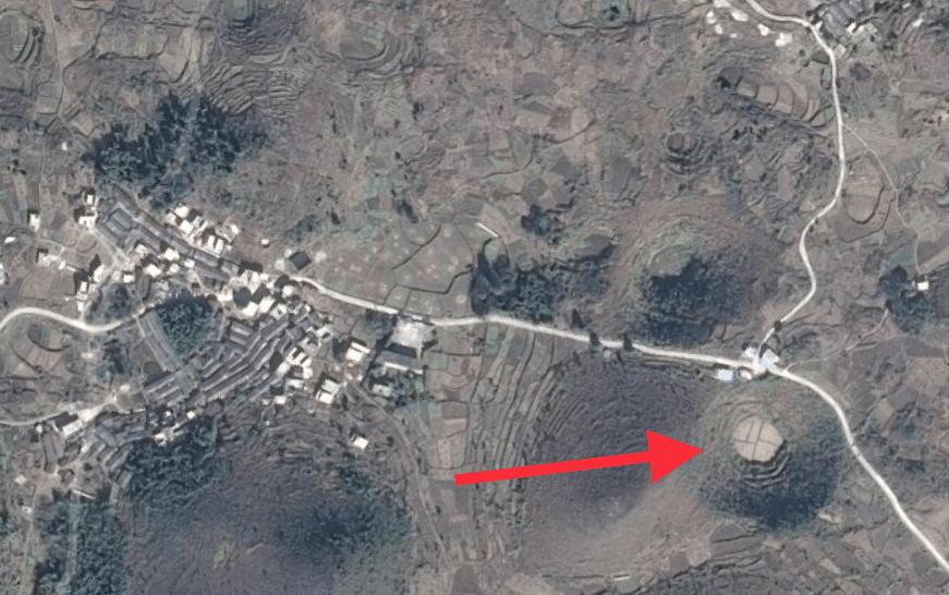 衛星地圖上的「神秘圓形」。