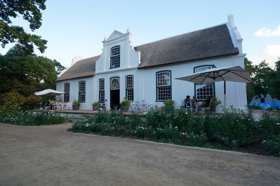 Boschendal Wine Estate.