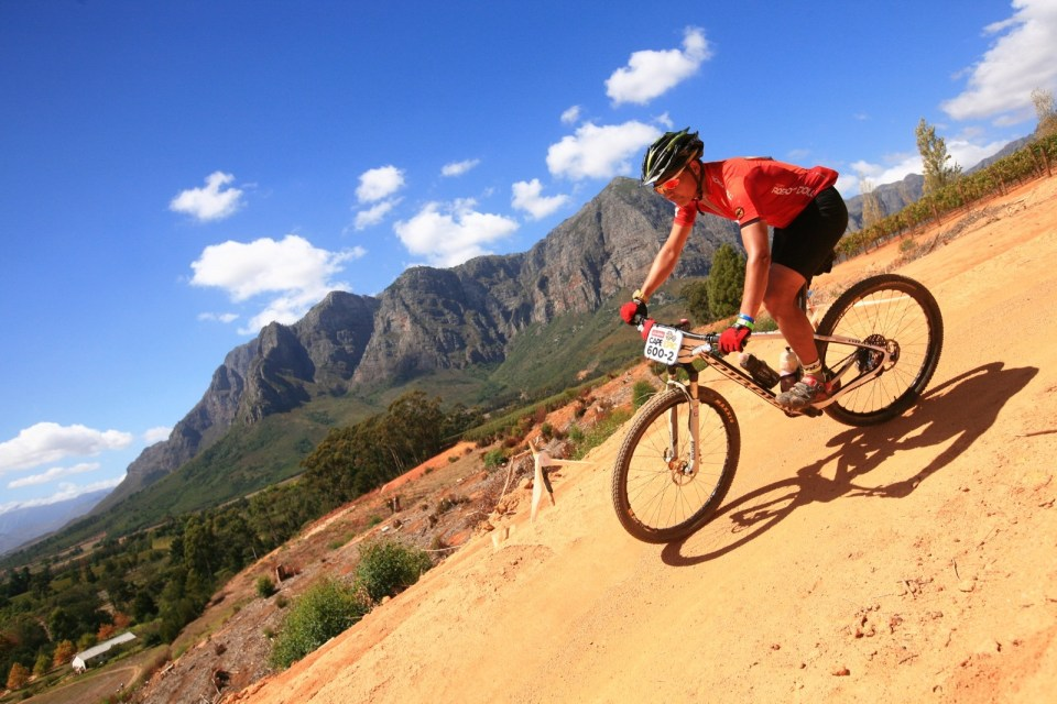 Cape Epic 艱苦的背後是怡人的風景。(大會官方照片 -- Sportograf)