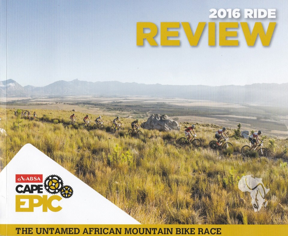 Cape Epic 2016 Ride Review
