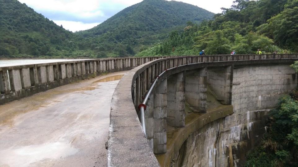 羅坑水庫大壩。