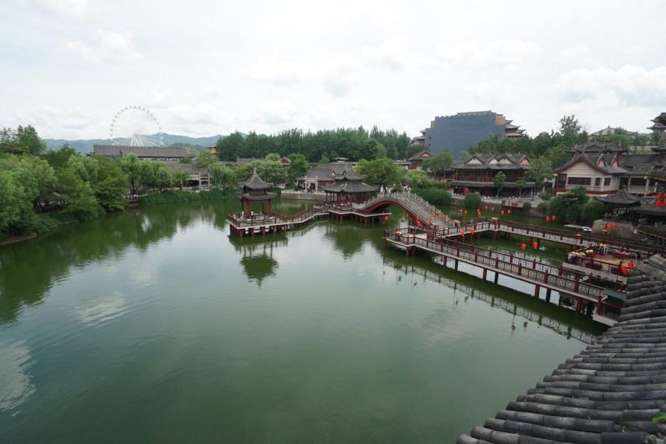 《清明上河圖》的汴河。