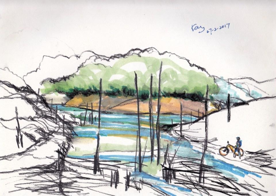 南昆山鶴坑河