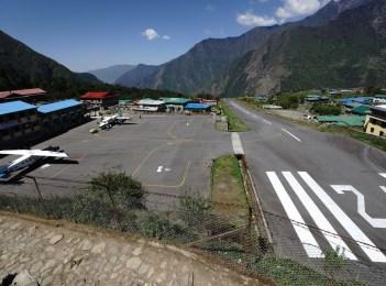 Lukla 機場被譽為「全世界最危險機場」,回程時會介紹。