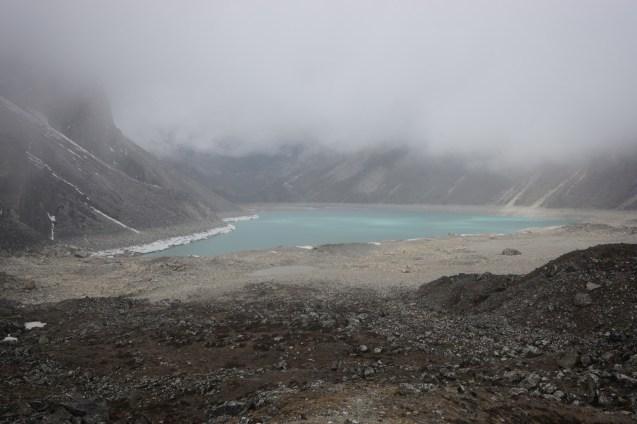 從小黑山望第四個湖。