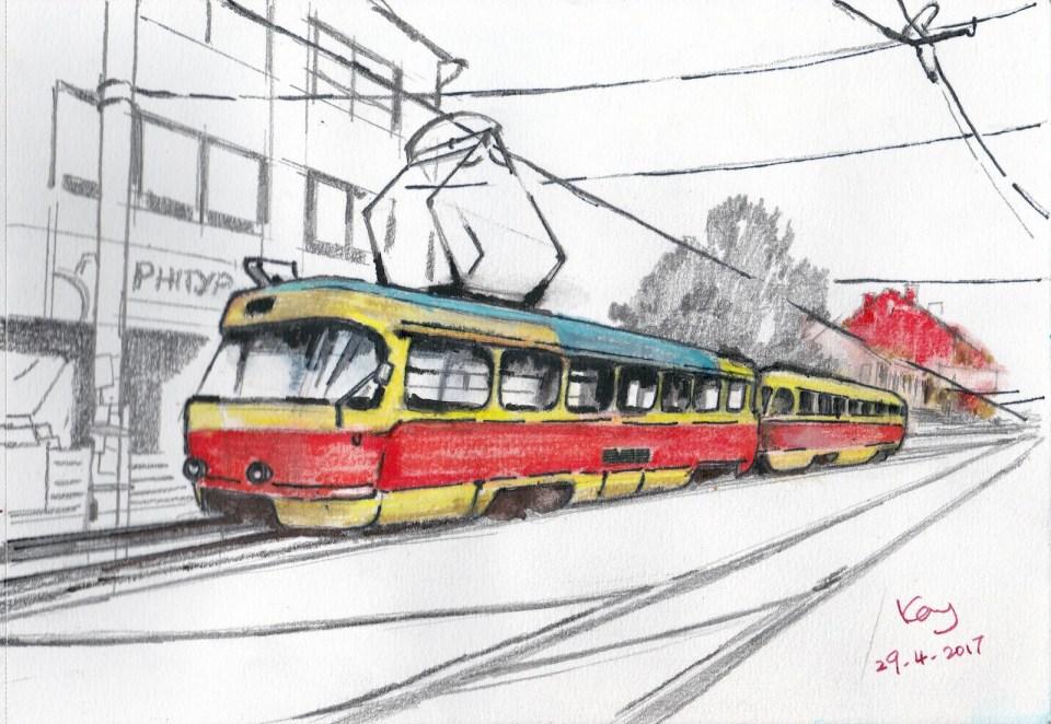 基輔電車(一)