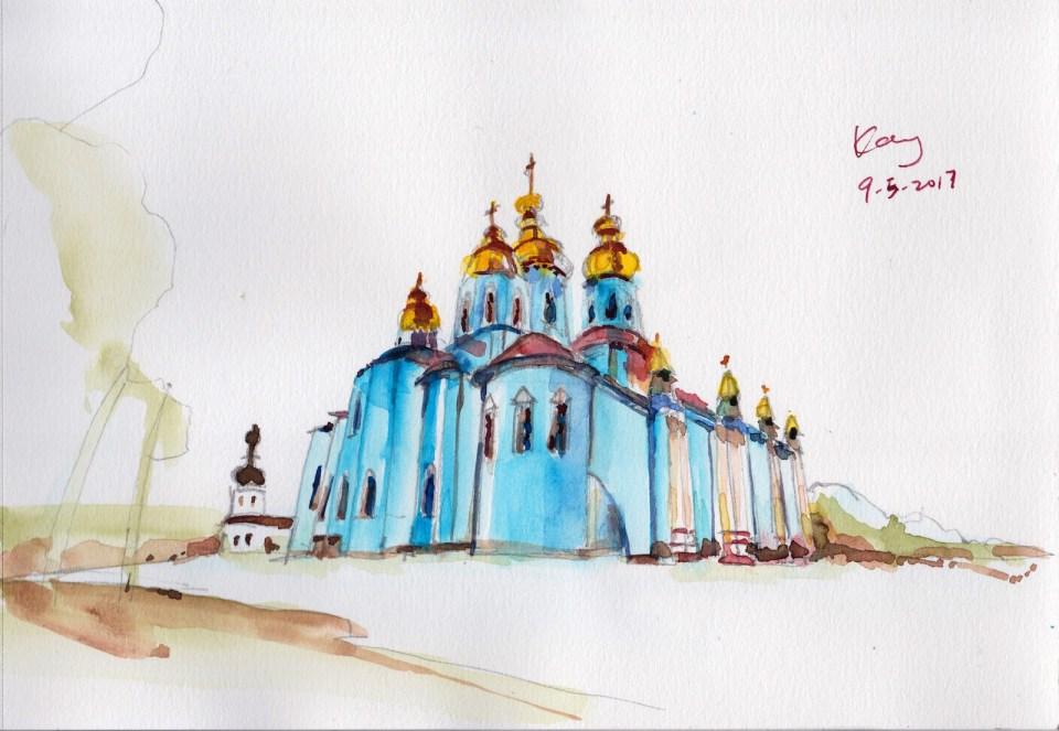 基輔 St. Michael's Golden-Domed Monastery