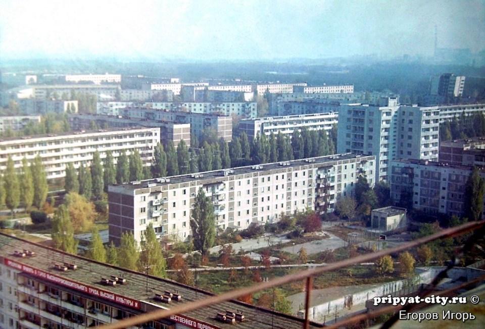 意外前的普里皮亞季(來自 pripyat-city 網站)