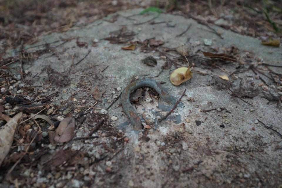基座上的綱索環。