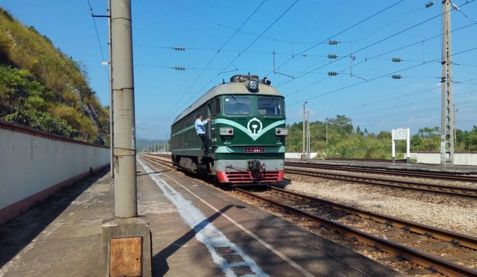 不用買票的「綠皮火車」:郴州 — 白石渡 8629 次
