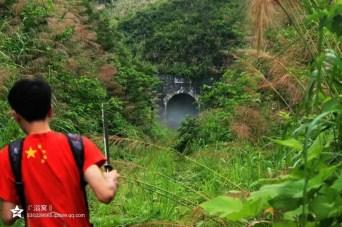 因時間關係,未能一睹碓磑沖隧道,幸獲國內網友 Raymone 提供照片(@老京廣狂魔)