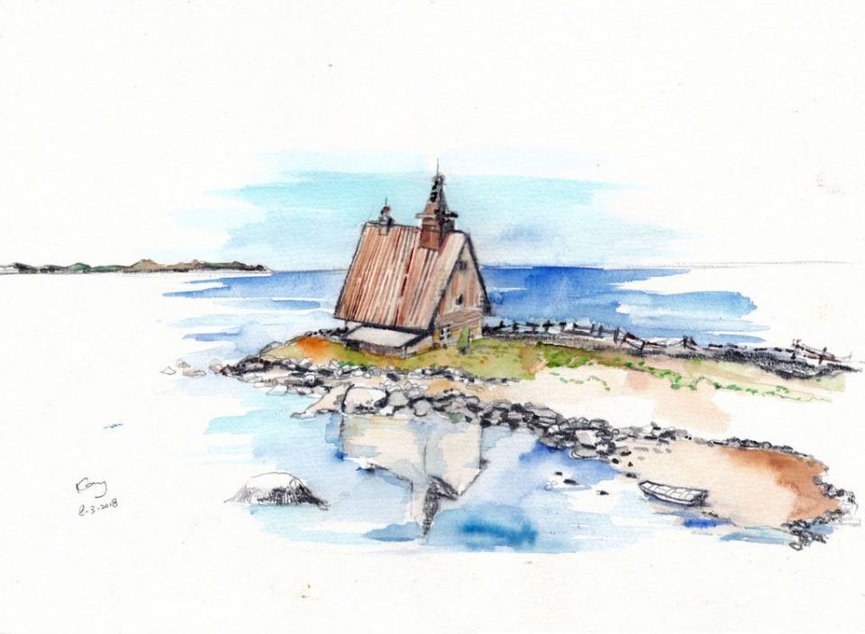 海邊小屋(課堂示範)