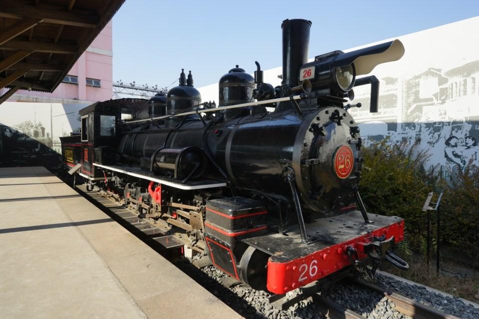窄軌蒸汽火車頭 SN23