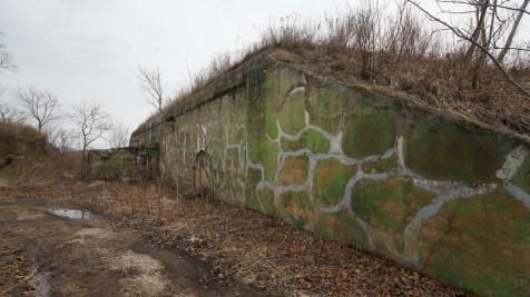 Fort Number 11 由幾幢堡壘組成。