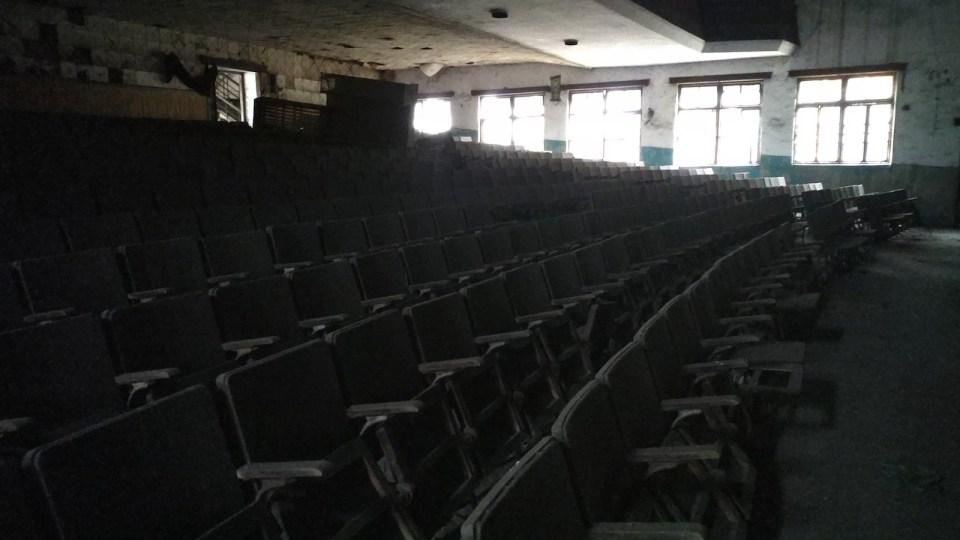 曲仁礦區工會電影院