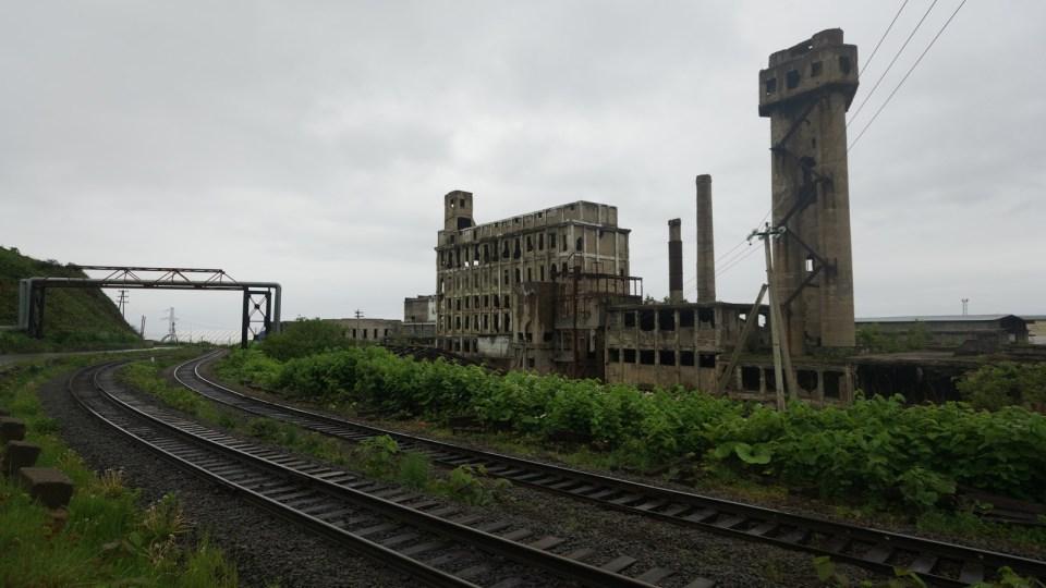 製紙廠的成品及原料以鐵路運輸。