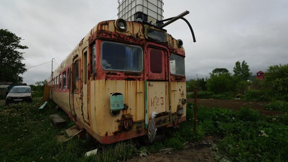 翻查資料,這台客車曾於 1991 年日本小海線服役。