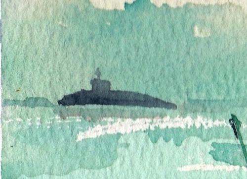 重現潛艇。