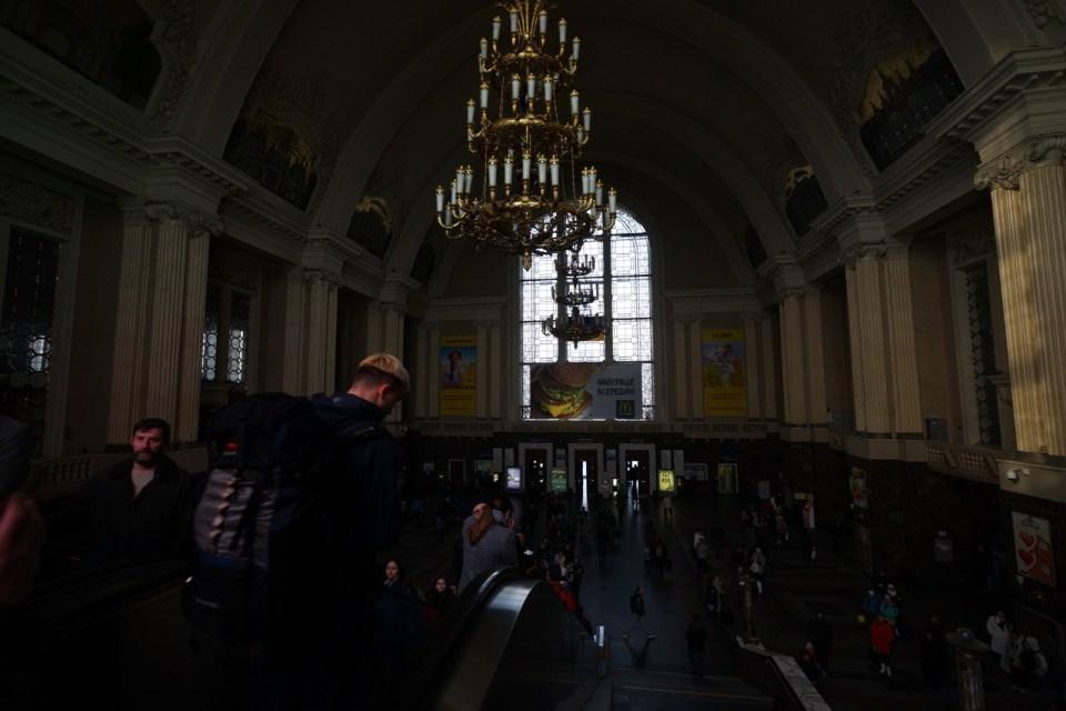 基輔中央火車站。