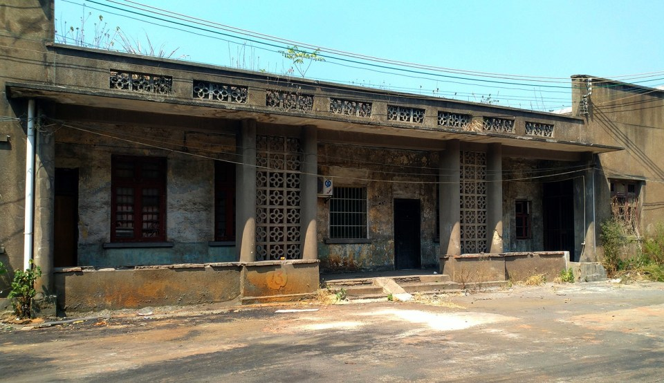舊白石渡站站房。