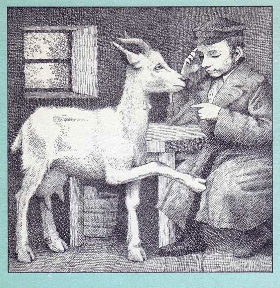 Zlateh the Goat, illustration by Maurice Sendak