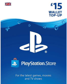 PlayStation Gift Card 15 GBP