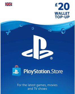 PlayStation Gift Card 20 GBP