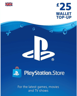 PlayStation Gift Card 25 GBP