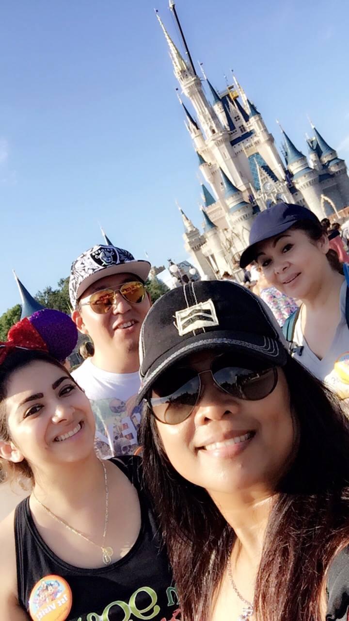 Eglet Prince Staff at Disneyworld