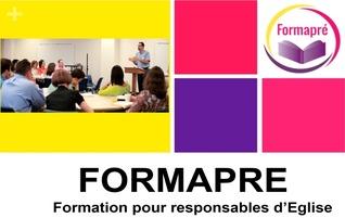 Formation «L'Eglise et ses responsables» les 22 & 23/09/2017