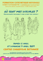 Affiche Formation Disciple avril 2019