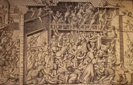 © FCPL, Massacre at Vassy, first of March 1562