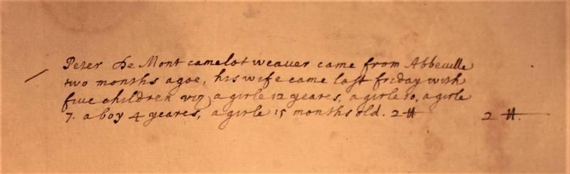 ©EPFL, MS 226, 1681, Livre des comptes rendus au Lord Mayor pour l'aide aux réfugies