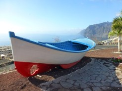 traditional Canary Islands fishing boat